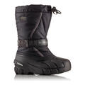 Sorel Girl's Youth Flurry Apres Ski Boots Black