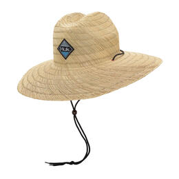 Huk Men's Ripple Lifeguard Straw Hat