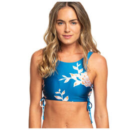 Roxy Women's Riding Moon Crop Bikini Top