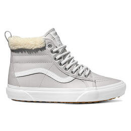 Van Women's Sk8-Hi MTE Metallic Silver Shoes