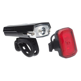 Blackburn Dayblazer 400 + Click Bike Light Set