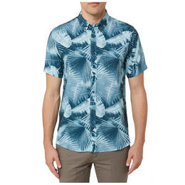 O'neill Men's Facepalm Short Sleeve Button Up Shirt