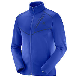 Salomon Men's Discovery Full Zip Top, Surf The Web