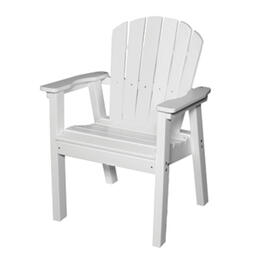 Seaside Casual Adirondack Shellback Dining Chair