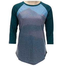 Tentree Women's Fog 3.25 Sleeve T Shirt