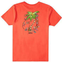 Billabong Boy's Palm Grinch Short Sleeve T Shirt