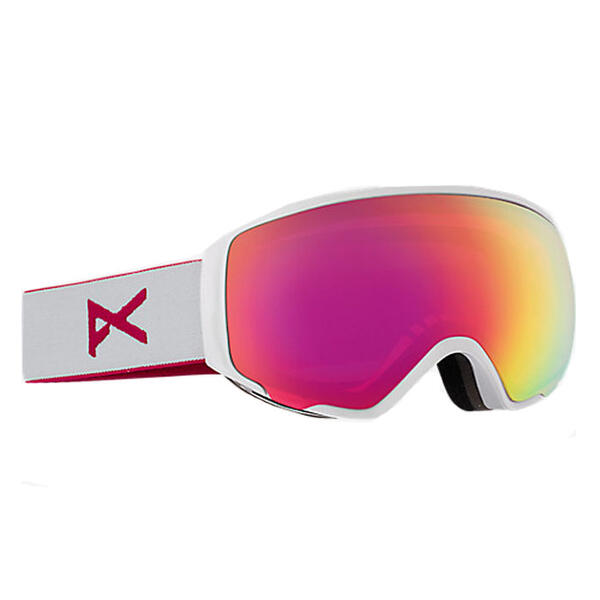 Anon Women's M1 Snow Goggles With Pink Lens