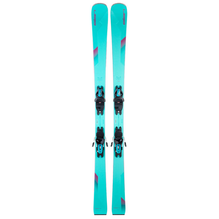 Elan Women's Wildcat 76 W Skis with ELW 9.0