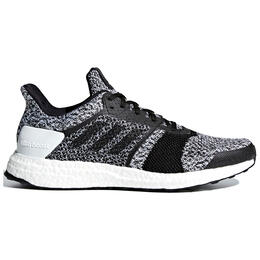 Adidas Men's Ultra Boost ST Running Shoes White/Black/Black