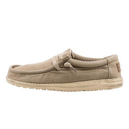 Hey Dude Men's Wally Washed Casual Shoes Chestnut