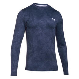 Under Armour Men's Infrared EVO ColdGear Printed Crew Long Sleeve Shirt