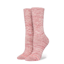 Stance Women's Uncommon Classic Rose Smoke Crew Socks