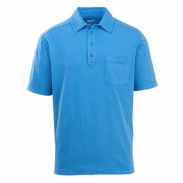 Woolrich Men's Double Forks Short Sleeve Polo Shirt