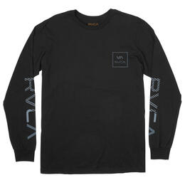 Rvca Men's Segment Long Sleeve T Shirt
