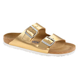Birkenstock Women's Arizona Softbed Leather Sandals