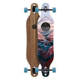 Arbor Walnut Axis Photo Skateboard