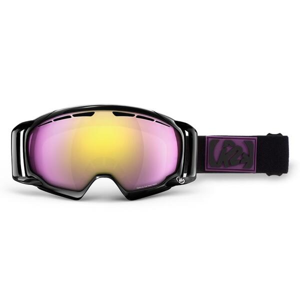 K2 Women's Captura Goggles with Pink/Pink Octic Mirror Lens