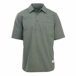 Woolrich Men's Eco Rich Midway Printed Short Sleeve Shirt