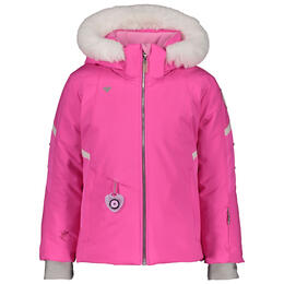 Obermeyer Girl's Katelyn Jacket With Faux Fur