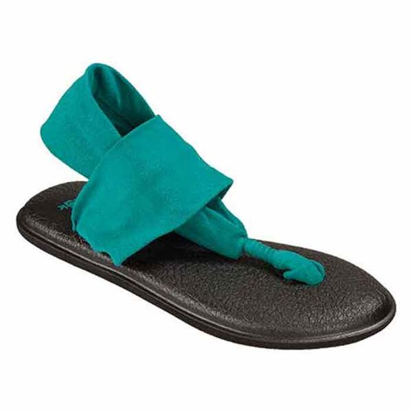 Sanuk Women's Yoga Sling 2 Sandals Teal
