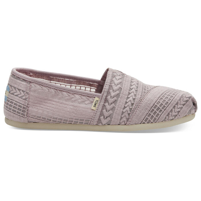 Toms Women's Alpargata Casual Shoes Lilac
