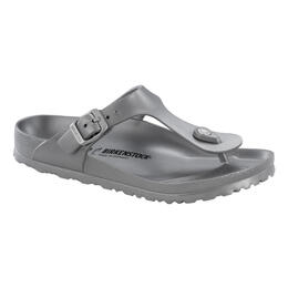 Birkenstock Women's Gizeh Essentials Sandals Metallic Silver