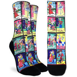 Good Luck Socks Women's Skeleton Characters Socks