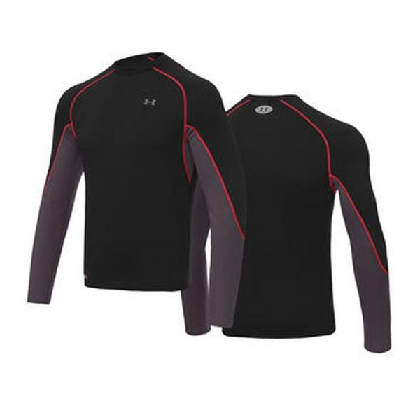 Under Armour Men's Coldgear Basemap Crew