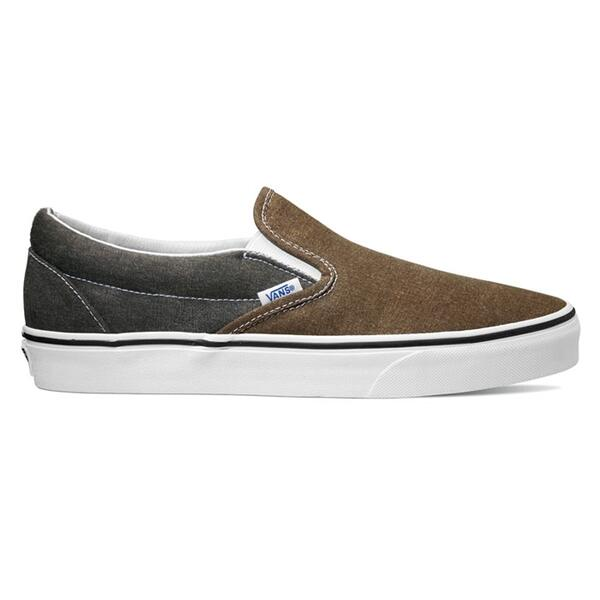 Vans Men's Classic Slip-on Washed 2 Tone Casual Shoes
