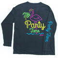 Party Pants Men's Party Time Long Sleeve T-Shirt alt image view 1