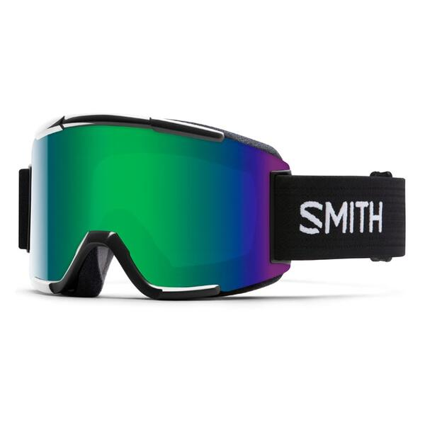 Smith Squad Snow Goggles With Green Sol X Lenses