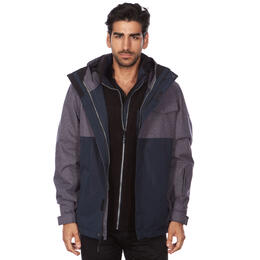 Avalanche Men's 3 in 1 System Jacket with Sherpa