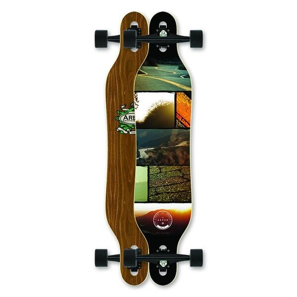 Arbor Axis Walnut Cruiser Longboard '13