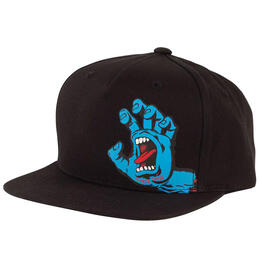 Santa Cruz Boy's Screaming Hand Snapback Hat
