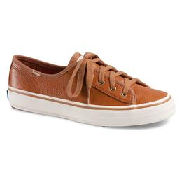 Keds Women's Double Up Tumbled Leather Casual Shoes