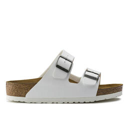 Birkenstock Women's Arizona Birko Flor Sandals White
