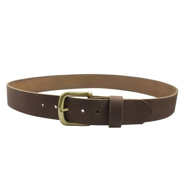 Bison Rough Cut Leather Belt