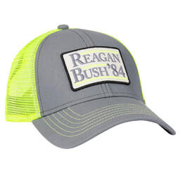 Rowdy Gentleman Men's Reagan Bush '84 Mesh Back Ball Cap