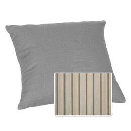 Casual Cushion Corp. 15x15 Throw Pillow - Cove Pebble