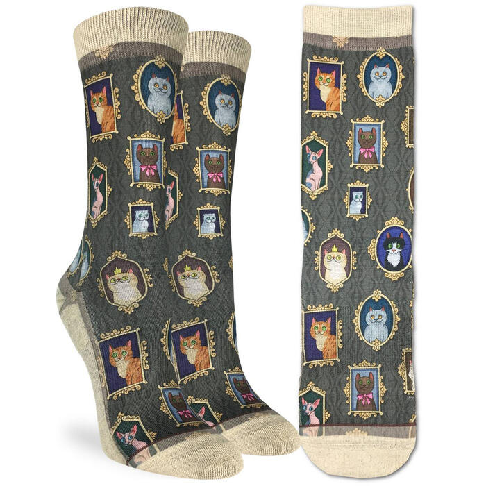 Good Luck Socks Women's Prized Cats Socks