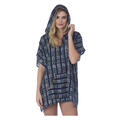 antigua road poncho cover up front view