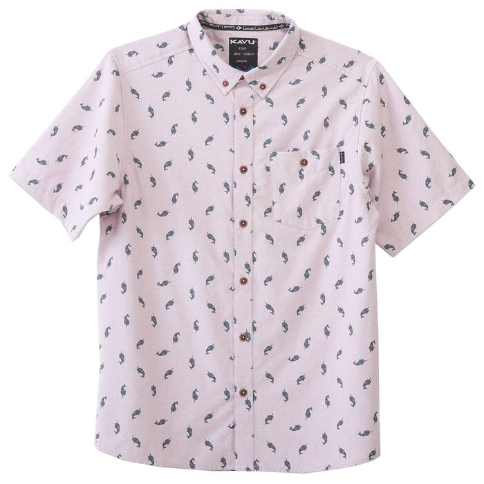 Kavu Men's Juan Button Up Short Sleeve Shirt