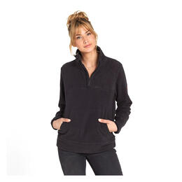 Billabong Women's Boundary Mock Half Zip Jacket