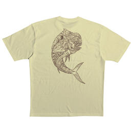 Quiksilver Men's Waterman Fish And Twist T Shirt