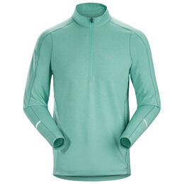 Arc`teryx Men's Cormac Zip Neck Long Sleeve Top