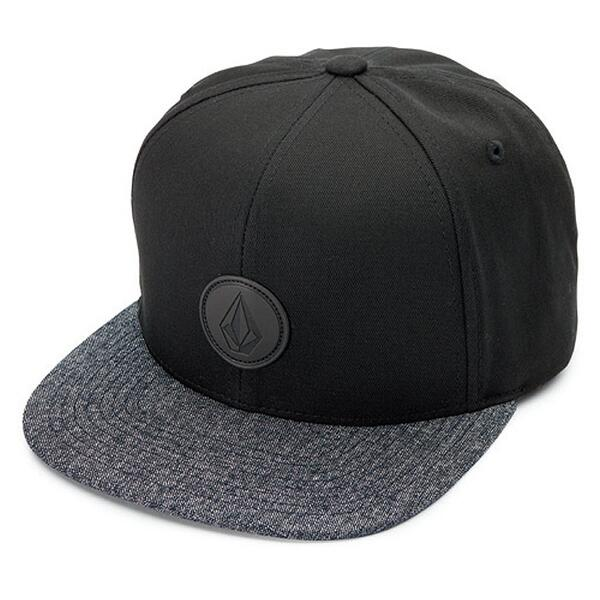 Volcom Men's Quarter Fabric Snapback Hat