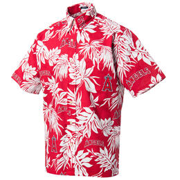 Reyn Spooner Men's Los Angeles Angels Aloha MLB® Button Front Shirt