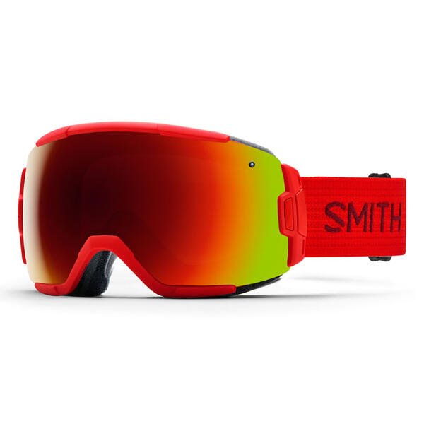 Smith Vice Snow Goggles With Red Sol-X Mirr