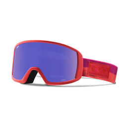 Giro Women's Gaze Snow Goggles With Grey Purple Lens