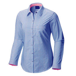 Columbia Women's Super Harborside Woven Long Sleeve Shirt